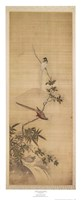Birds on a Plum Blossom Fine-Art Print
