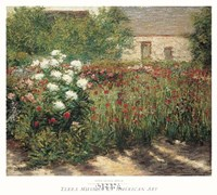 Garden at Giverny, c. 1890 Fine-Art Print