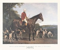 Mr. Williamson, Huntsman to His Grace Fine-Art Print
