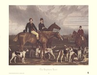 The Hevthorp Hunt Fine-Art Print