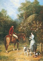 Visit to the Kennels Fine-Art Print