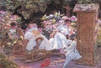 A Summer Afternoon, Biarritz Fine-Art Print