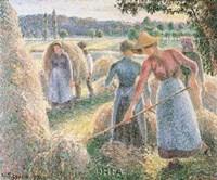 Haymakers, Evening, Eragny Fine-Art Print