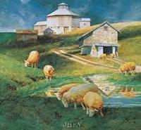 Octagonal Barn, 1988 Fine-Art Print