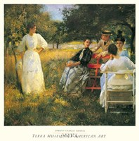 In The Orchard, 1891 Fine-Art Print