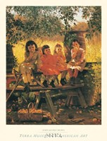 The Cider Mill, 1880 Fine-Art Print