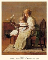 Mother and Child, c. 1885 Fine-Art Print