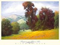 Poppies en Plein Air Fine-Art Print