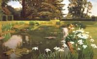 The Garden, Sutton Place, Surrey Fine-Art Print