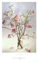 Magnolias & Moon I Fine-Art Print