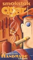 Smokstak Cigar Faktori Fine-Art Print