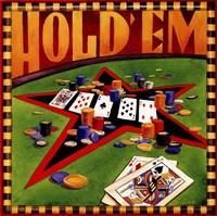 Hold 'em Poker Fine-Art Print