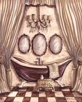 Charming Bathroom I Fine-Art Print