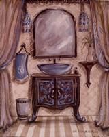 Charming Bathroom III Fine-Art Print