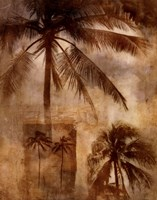 Retro Palms 2 Fine-Art Print