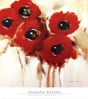 Crimson Poppies II Fine-Art Print