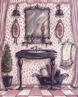 Fanciful Bathroom III Fine-Art Print