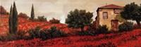 l Papaveri Sulle Colline Fine-Art Print