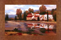 Village Reflection Fine-Art Print