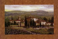 Uzzano with Border Fine-Art Print