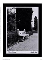 Bench, Portugal Fine-Art Print
