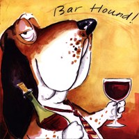 Bar Hound Fine-Art Print