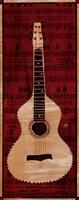 White Check Guitar Fine-Art Print