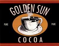 Golden Sun Cocoa Fine-Art Print