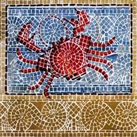 Mosaic Crab Fine-Art Print