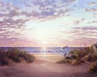 Paradise Dawn Fine-Art Print