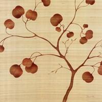 Autumn Leaves on Silk II Fine-Art Print