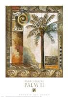 Paradisiacal Palm II Fine-Art Print