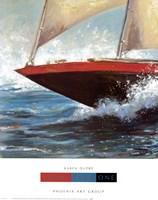 Yacht Club One Framed Print