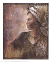 Raffia Robed Lady I Fine-Art Print