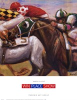 Win Place Show Fine-Art Print