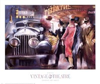Vintage Theatre I Fine-Art Print