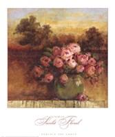 Sunlit Floral Fine-Art Print