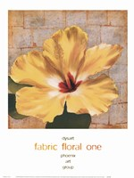 Fabric Floral One Fine-Art Print