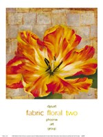 Fabric Floral Two Fine-Art Print