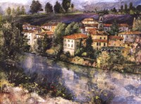 Village on the Arno Fine-Art Print