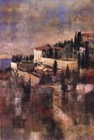 Cliffside at Tuscany Fine-Art Print