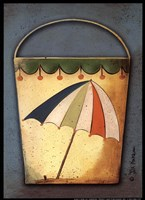 Umbrella Bucket Fine-Art Print