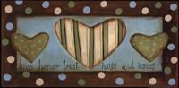 Love Honor Trust Hugs & Kisses Fine-Art Print