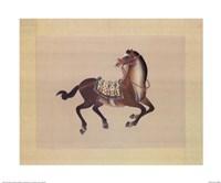 Dynastic Horses I Fine-Art Print