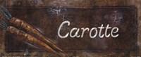 Carotte Fine-Art Print