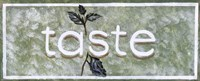 Taste Fine-Art Print