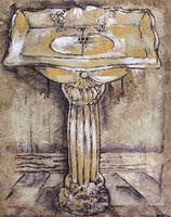 Antique Bath III Fine-Art Print
