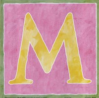 M - Pink Background Fine-Art Print