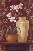 Orchid In Raku Bowl Fine-Art Print