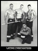 Latino Firefighters Fine-Art Print